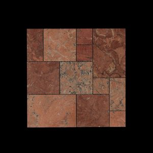 Mega Red Mosaic M01 Polished