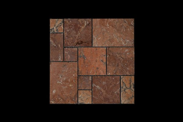 Red Marble Mosaic M01 ACID