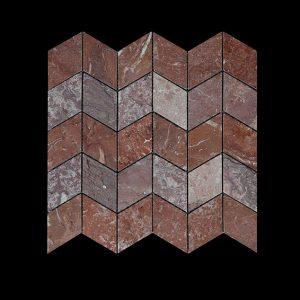 Rosso Chocolate Leaf Mosaic POL + HON Comb.