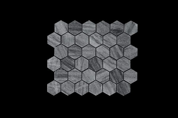 White C -  Hexagonal - TIGER MOON -DK003   POL