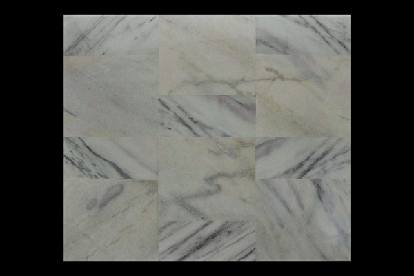 White Crystalline 60x60x2cm Sakura Hijau + 30x60x2cm CHM MS
