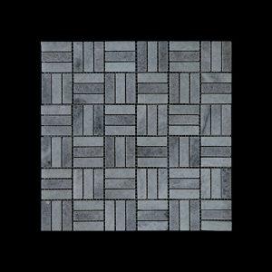White Crystalline Block Mosaic DK048 Honed