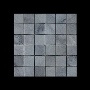 White Crystalline Mosaic 4.8x4.8 Honed