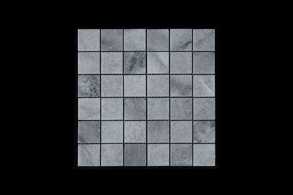 White Crystalline Mosaic 4.8x4.8 Polished