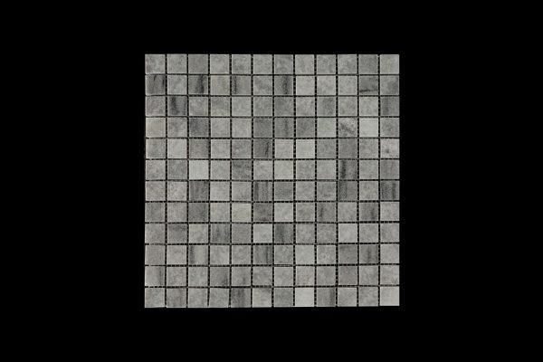 White Crystalline Mosaic DK 005 Polished