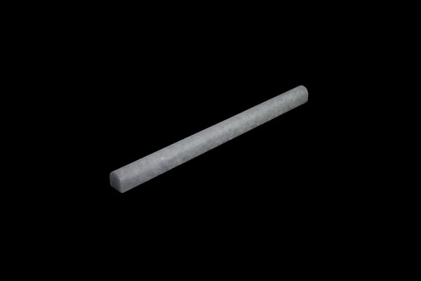 White Crystalline Pencil  honed - size 2x2 x 30.5 cm
