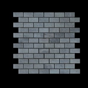 White Crystalline Small Brick Mosaic DK007 Honed