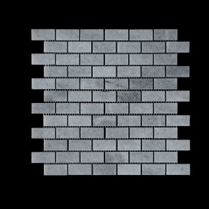 White Crystalline Small Brick Mosaic DK007 Polished