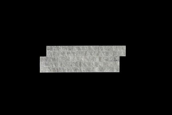 White Crystalline Split Face 10x30cm