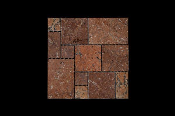 Red Marble Mosaic M01 ACID