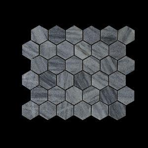 White C -Hexagonal -  TIGER MOON -  DK003 HON