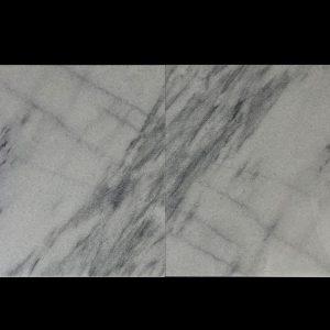 White Crystalline 60x60x2cm CHM Multi Strip Polished - 2