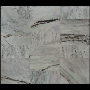 White Crystalline Comb. 60x60x2cm Berpola + 30x60x2cm CHM MS