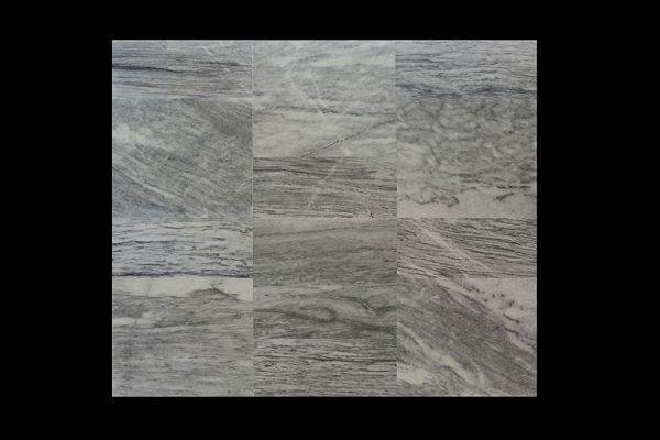 White Crystalline Comb. 60x60x2cm CHM Multi HTM + 30x60x2cm Urat Kayu