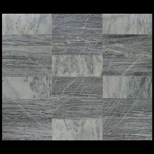 White Crystalline Comb. 60x60x2cm Urat Kayu + 30x60x2cm CHM Multi Kb