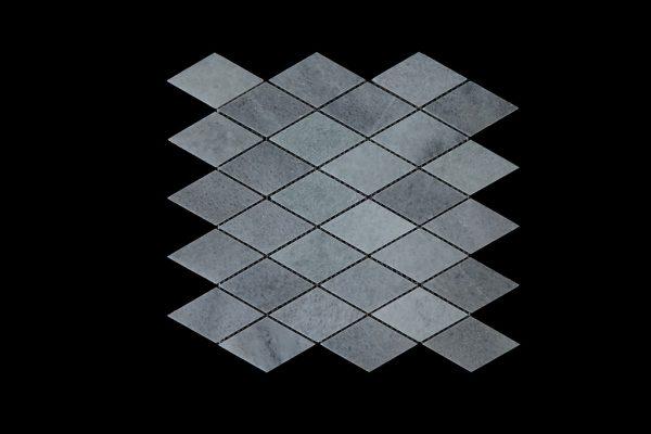 White Crystalline Diamond Mosaic DK030 Honed