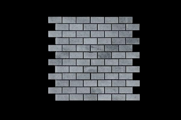 White Crystalline Small Brick Mosaic DK007 Polished