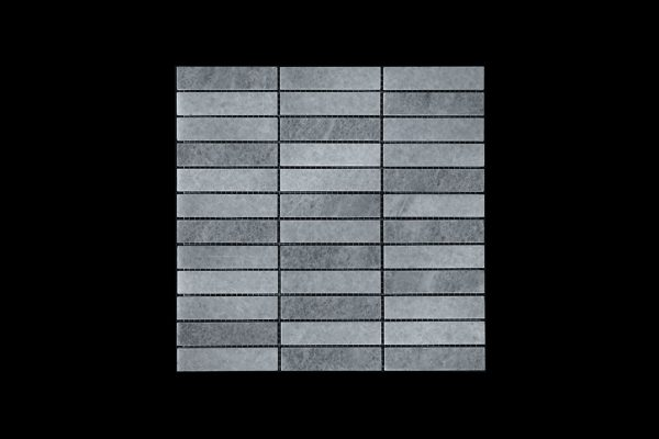 White Crystallline Mosaic DK088 Polished